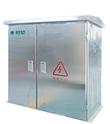 Distribution transformer cabinet